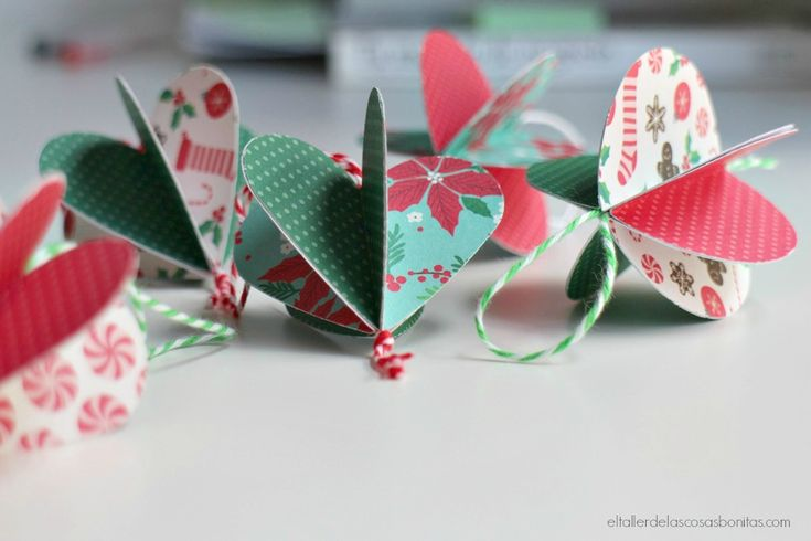 DIY adornos navideños de papel | DIY Christmas decoration