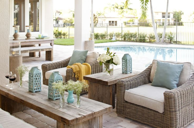 French Country Exterior Patio by Krista Alterman Wayfair