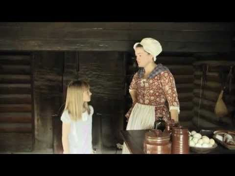 Colonial Kitchen. How would they perserve food in colonial times? CC C2 Week 15 Jamestown Plymouth. 6 minute video with activity.