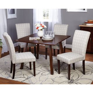 Best Simple Living 5 Piece Laurel Dining Room Set Dining 400 x 300