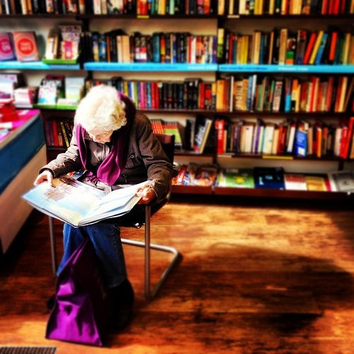 lost in words.  (by Richard Chambury)