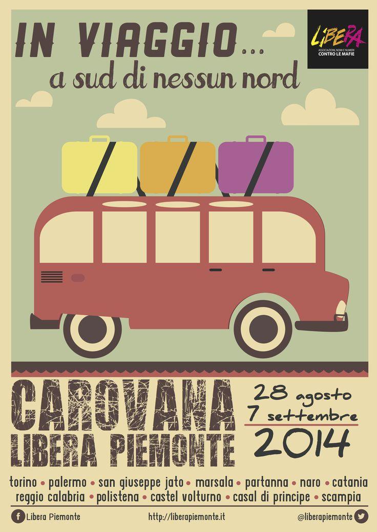 Carovana antimafia organizzata da Libera Piemonte