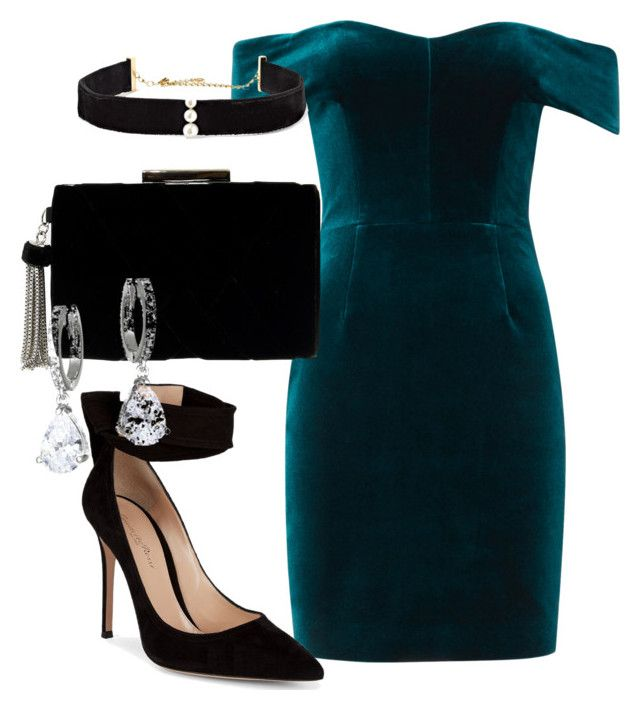 """""""#191"""" by nataliekate2003 ❤ liked on Polyvore featuring Nicholas, Gianvito Rossi, Anissa Kermiche and Kate Spade"""