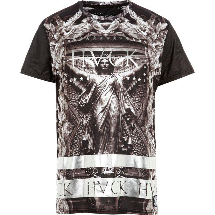 Grey Hack statue print t-shirt - branded t-shirts - t-shirts / vests - men