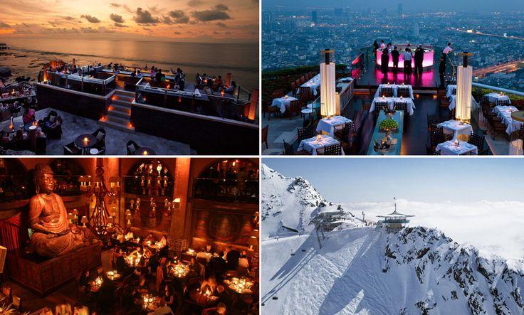 Här finns 8 av världens coolaste barer