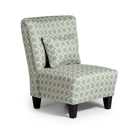 Jasper - For a great accent piece that serves as a nice place to rest, this armless chair is contemporary in style. It features a contoured back with...