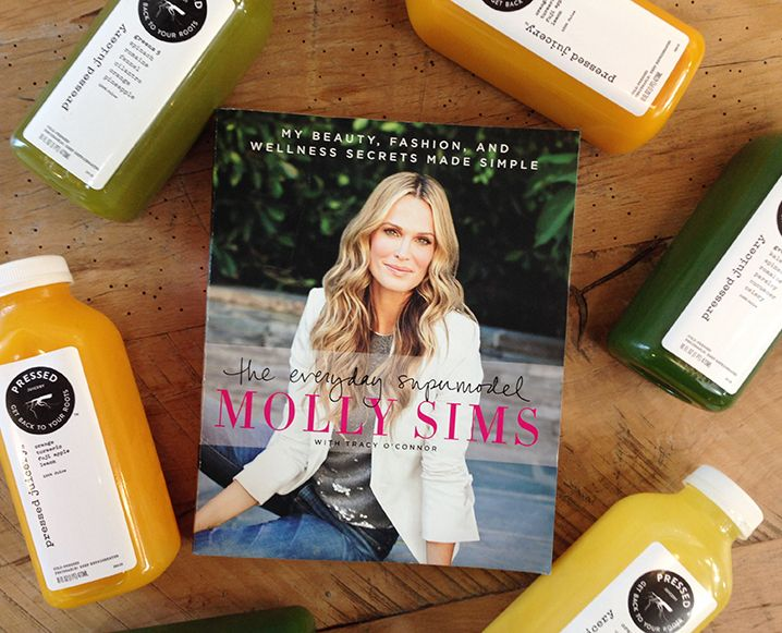 From how to squeeze that daily green juice into your diet to tackling a five day'er, Molly Sims has some advice not to be missed!