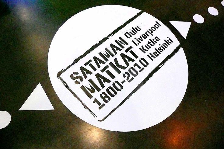 Sataman matkat – exhibition design.  Intro Design.
