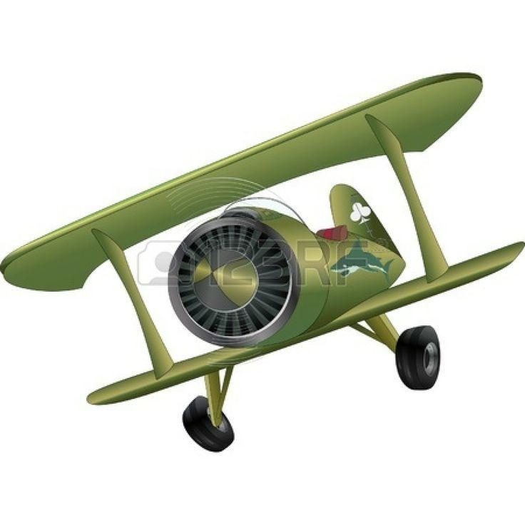 Der alte Doppeldecker Flugzeug
