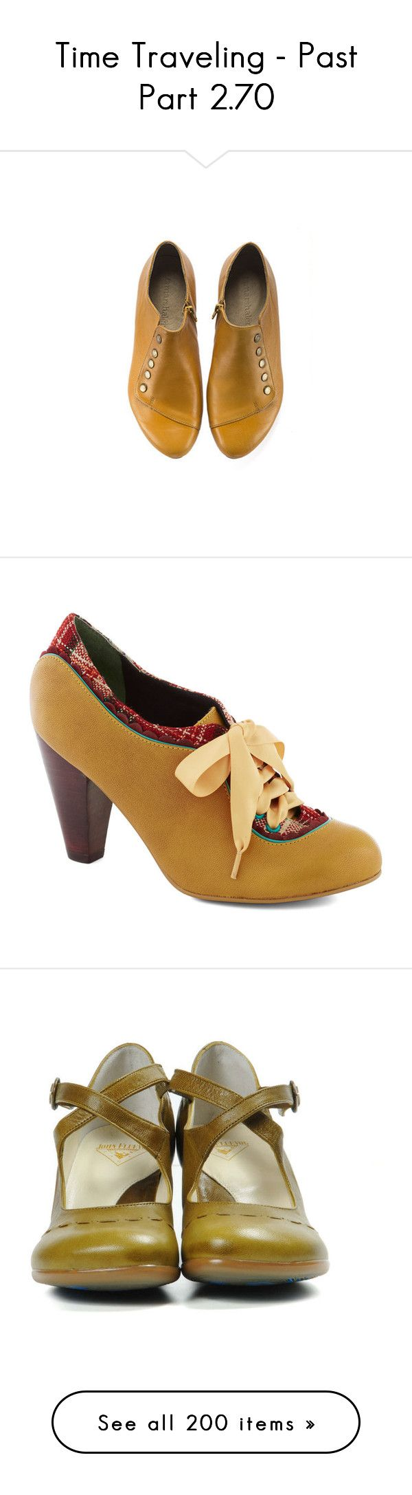 Yellow Low Heel Shoes