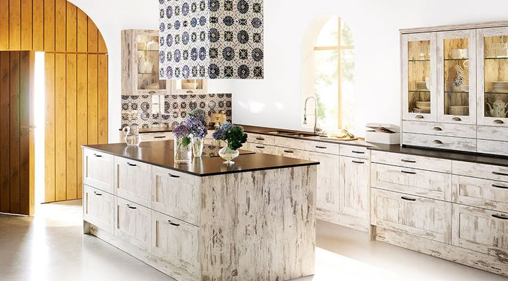 11 best romantik k chen images on pinterest romanticism kitchens and contemporary unit kitchens. Black Bedroom Furniture Sets. Home Design Ideas