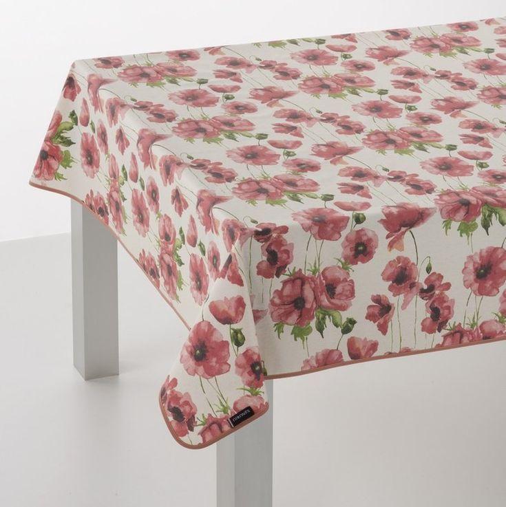 modern oilcloth tablecloth - 735×737