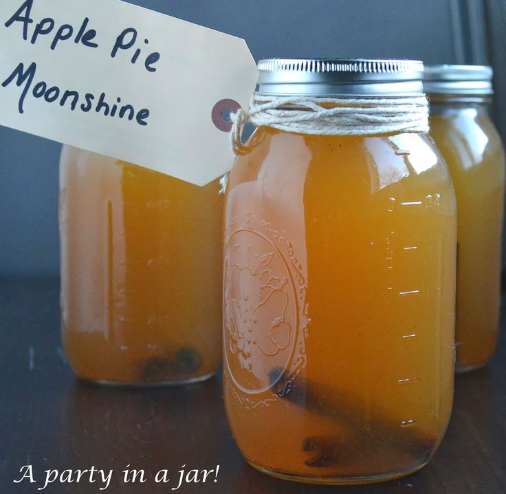 The Very Best Recipe for Homemade Apple Pie Moonshine.