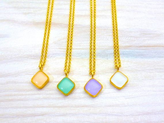 Hey, I found this really awesome Etsy listing at https://www.etsy.com/listing/269783628/rhombus-necklace-geometric-necklace
