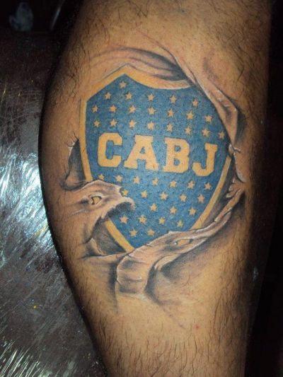 Tatuajes De Boca Juniors Realmente Espectaculares Tattoo Xeneise