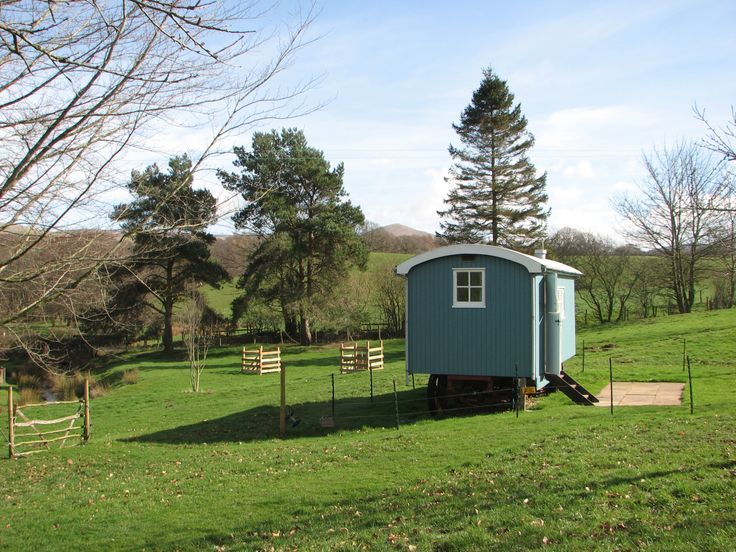 Brampton Mill, Cumbria: Open Home April 5th - as well as the renewable energy systems there is a large organic vegetable garden, hens and a wagon in the orchard, built by the owners from recycled timber on a WWI lorry chassis, which offers an eco-holiday experience.