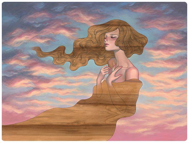 As I Fall by Audrey Kawasaki