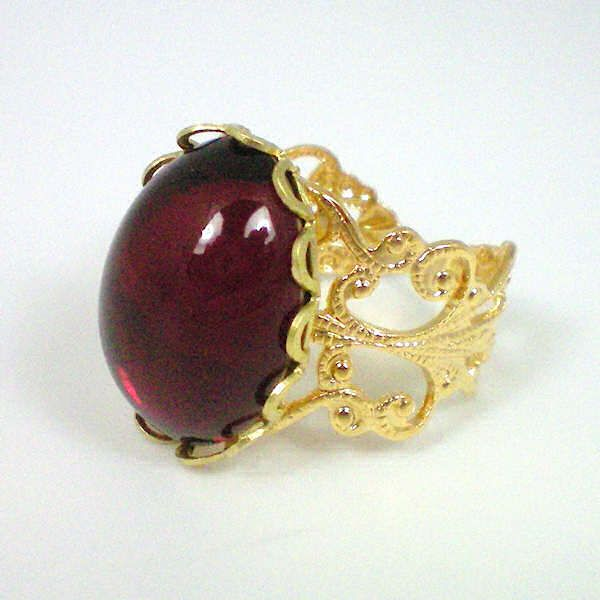 Anne Boleyn Ruby Ring