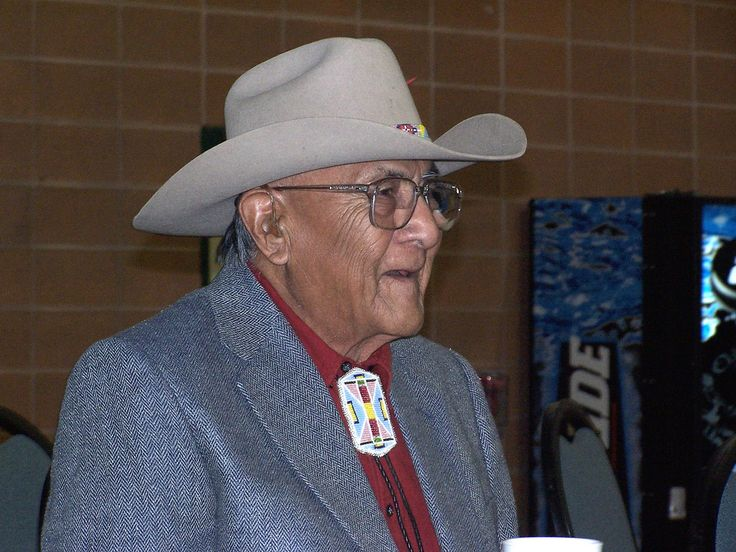 Joe Medicine Crow's 92nd Birthday   Joe Medicine Crow is a Crow tribal leader and the oldest man in the Crow Tribe. Joe's grandfather was Chief Medicine Crow on one side of his family, and White Man Runs Him, Custer's Crow Indian scout at the Little Bighorn on the other side. Joe is also the Crow tribal historian, a position he has held since 1948! Photo by WY Man