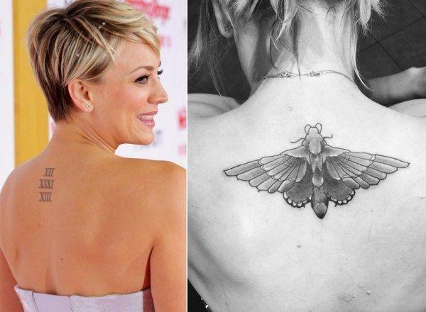 Татуировки знаменитостей (20 фото)