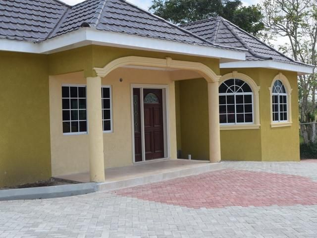 3 Bedroom House For Sale In Manchester Kw Jamaica In 2021 Beautiful House Plans My House Plans House