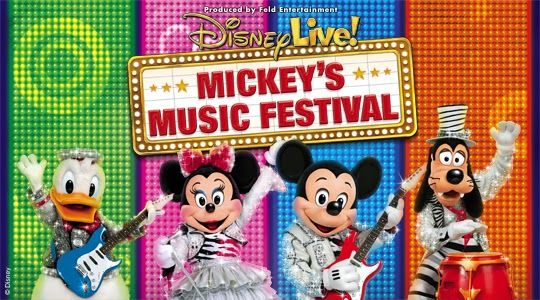 Livin' Life With Style : Disney Live! Mickey's Music Festival + Giveaway!