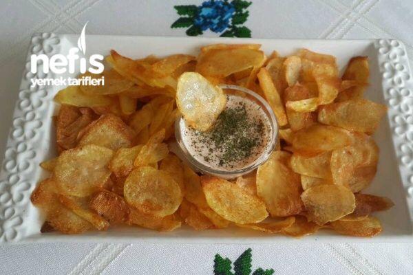 Fırında Patates Cips