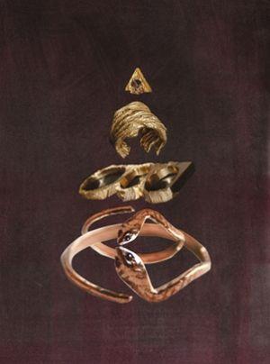 Brandi Strickland for Macha AW '10 #collage