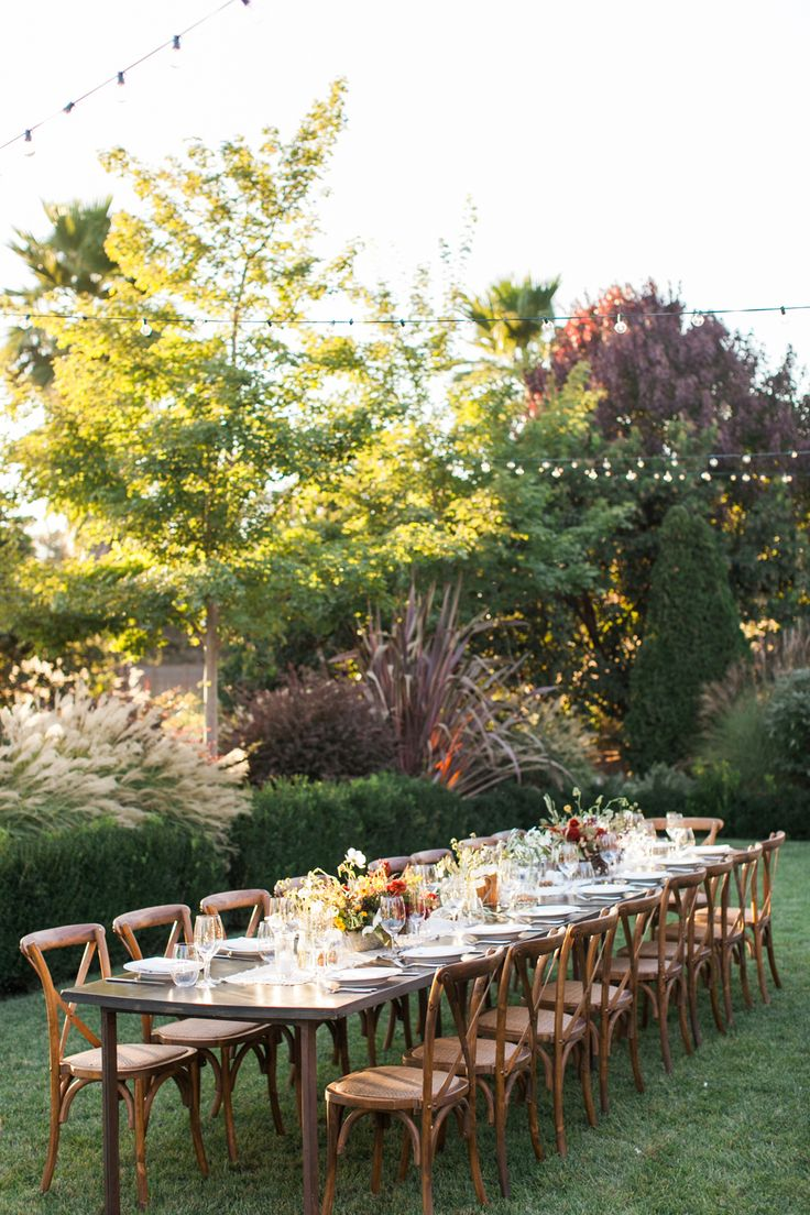 628 best Outdoor Wedding reception images on Pinterest