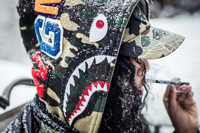 Snow'in BAPE