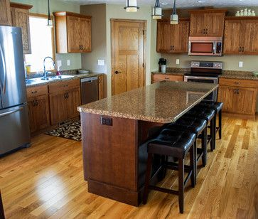 Red Oak Truffles And Cabinets On Pinterest