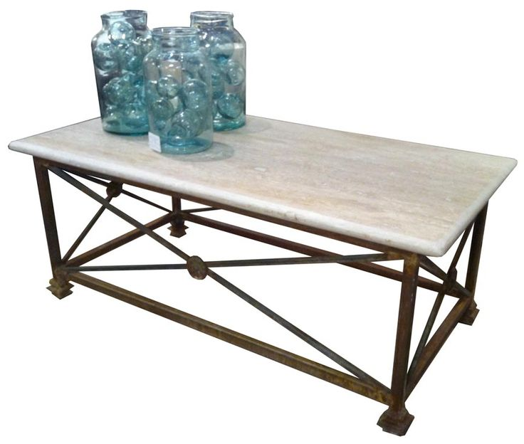 Trouvaille Artisan Made $1500 Marble Top, Variety Of Finishes