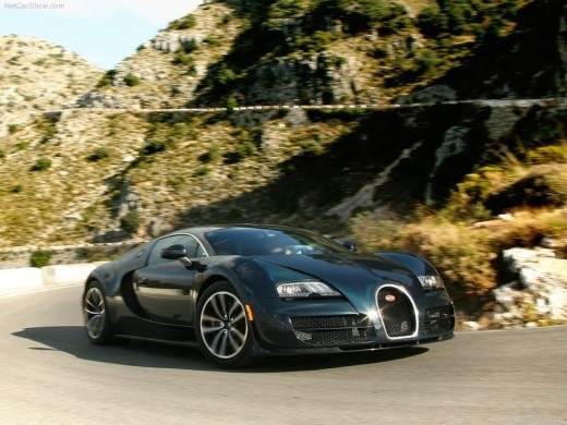 Bugatti Veyron Super Sport Has Only Two Doors And Two Seats, This Car Uses  The Engine Type Of Quad Turbocharged And Intercooled DOHC.