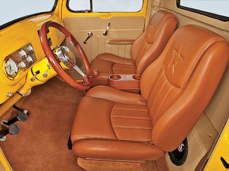 1950 Ford F 1 Custom Interior Truck Ideas Likes