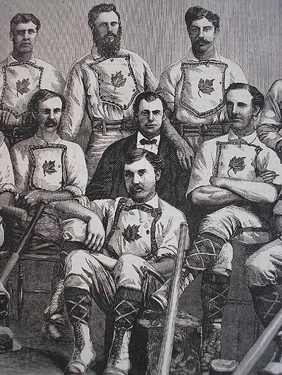 1874 World Champions, Guelph Maple Leafs