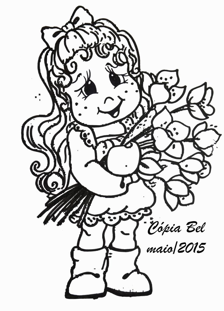 magnolia tree coloring pages - photo#38
