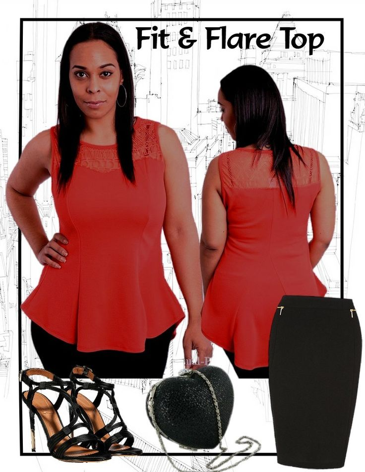 City Style Chic - Sweetheart Illusion Fit and Flare Red Top, $33.50 AUD.  Free standard shipping within Australia.   (http://www.citystylechic.com.au/new-arrivalssweetheart-illusion-fit-and-flare-red-top)