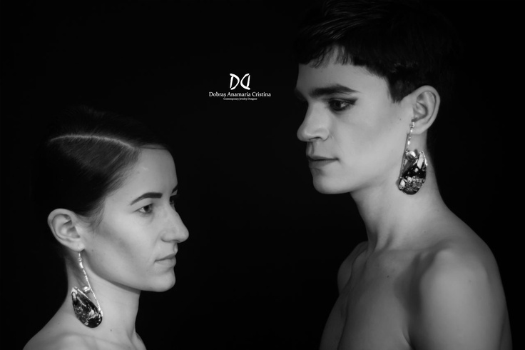 The SABOTAGE of genders: a certain piece of clothing or jewelry does not have a gender. If the product is good , it shouldn't matter whether a man or a woman wears it; this practically becomes an ideal.Jewelry design by designer Dobras Anamaria