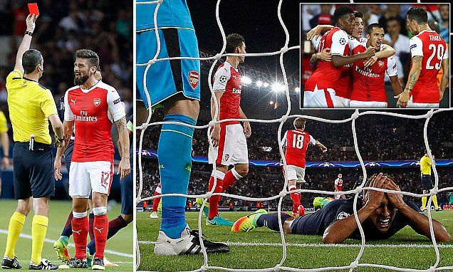 ALEXIS SANCHEZ SAVES ARSENAL AT PARC DES PRINCES (PSG 1-1 ARSENAL): The locals now know how they feel over at Arsenal sometimes, in those dark moments when the howls of frustration echo as far as Finsbury Park.