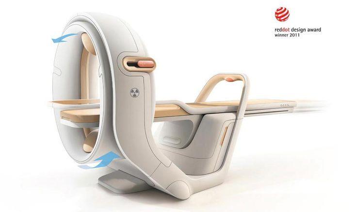 顶尖设计 - 人人小站 - medical scanner concept - reddot design award winner