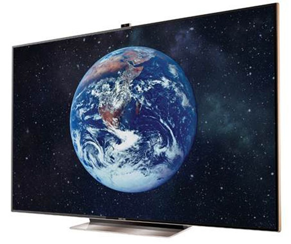 75-Inch Samsung UN75ES9000 3D LED Smart HDTV with Gesture Control Marks the Top End of TVs