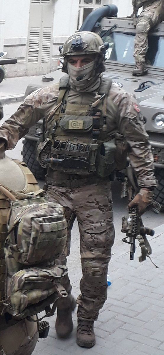 Tunisian National Guard Special Forces USGN [555x1200