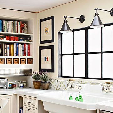 25+ best ideas about Kitchen sink lighting on Pinterest Industrial kids lighting, Craftsman ...
