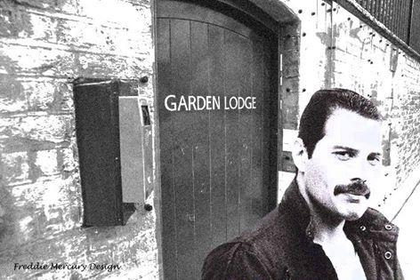 Freddie Mercury at Garden Lodge