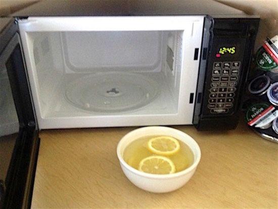 votre four à micro ondes est propre !