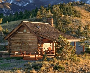 Log Cabin Interior Styles | ... style of home you're looking for by consulting this log home style