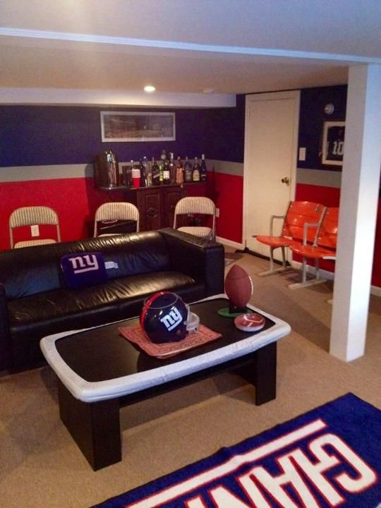 1000 images about new york giants room wo man cave on - What size fan should i get for my bedroom ...