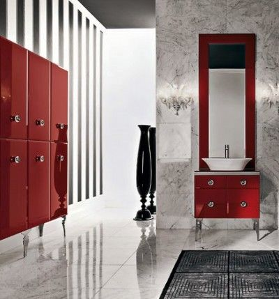 Agatha O | LIVING LARGE – bigger #tiles best for the #bathroom. http://www.houseofdesign.net.au