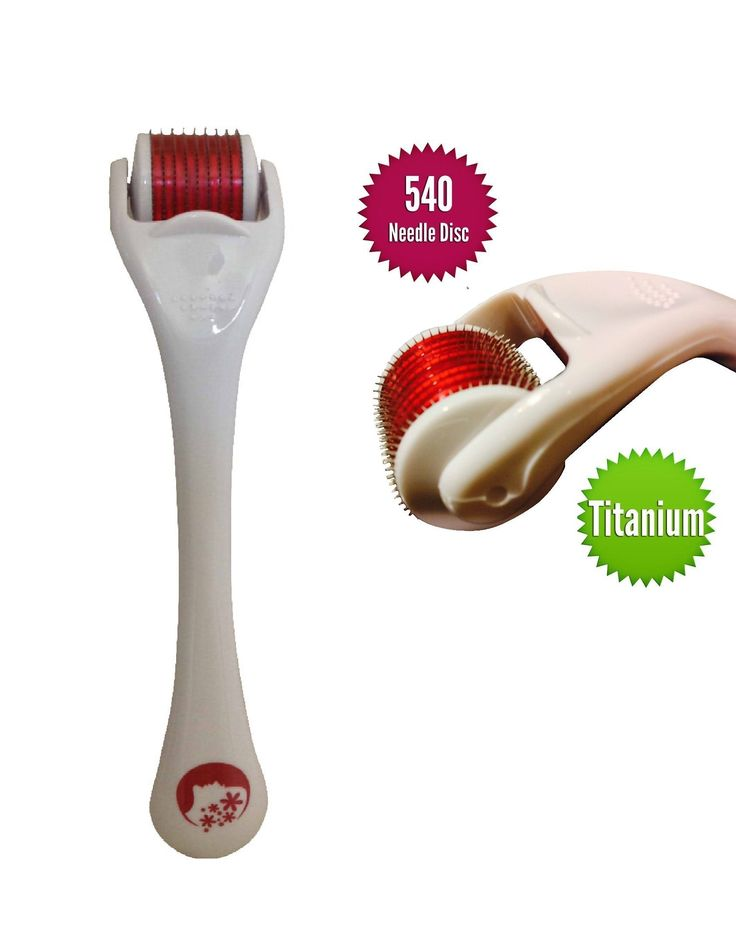 Top Quality Best Result 540 Derma Roller for Wrinkles, Scar, Acne, Cellulite Treatment (More Effective Than Regular 192 Needle Derma Rollers) Available Size 0.5mm, 1.00mm, 1.5mm and 2mm, Free Travel Case. (1.5mm)