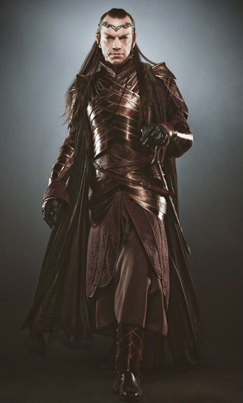 """Elrond (Hugo Weaving), """"The Hobbit"""". Look at his armor...Look at it...It's gorgeous!"""